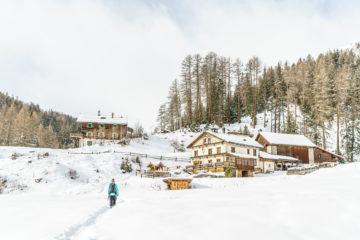Vna - Zuort: Winterwanderung im Val Sinestra