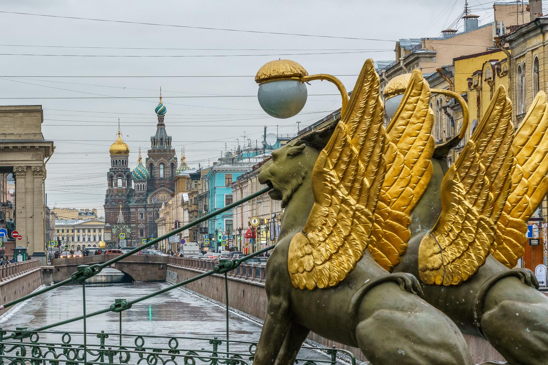 Loewenbruecke-Sankt-Petersburg