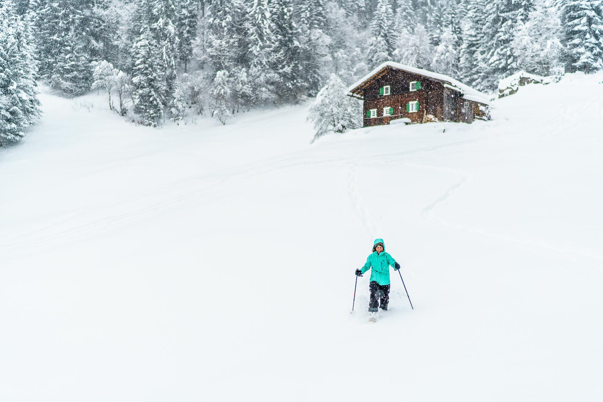 Montafon-Latschau-Schneeschuhtour