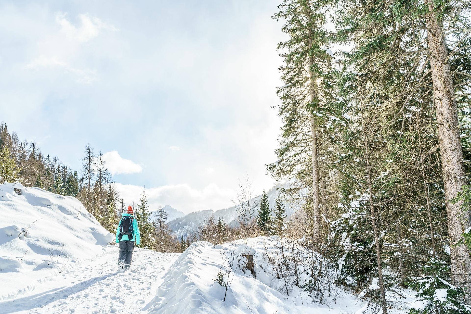 Winterwanderung-Unterengadin