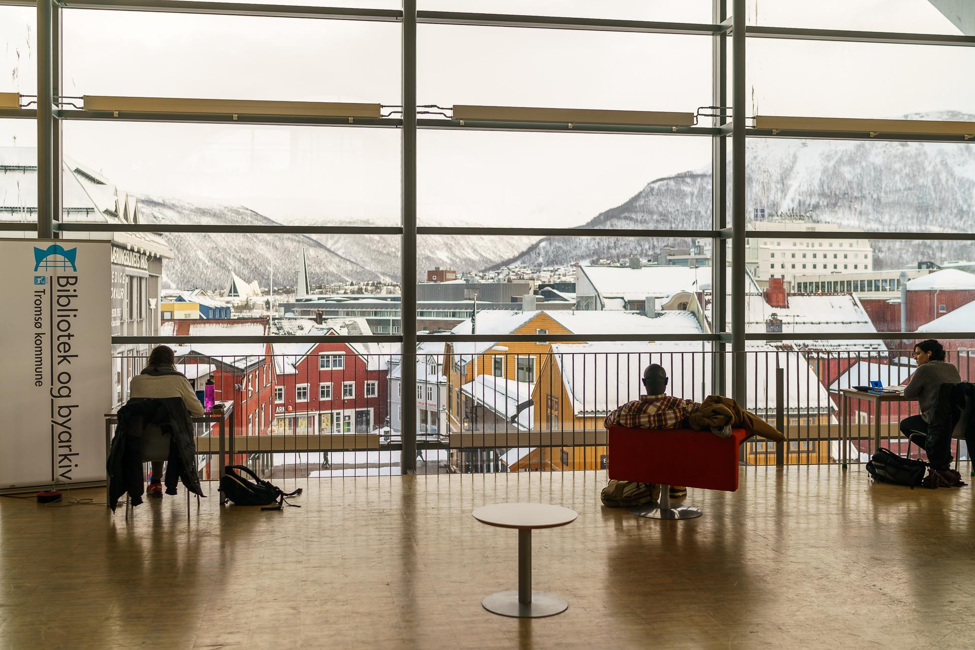 Bibliothek-Tromso-Architektur