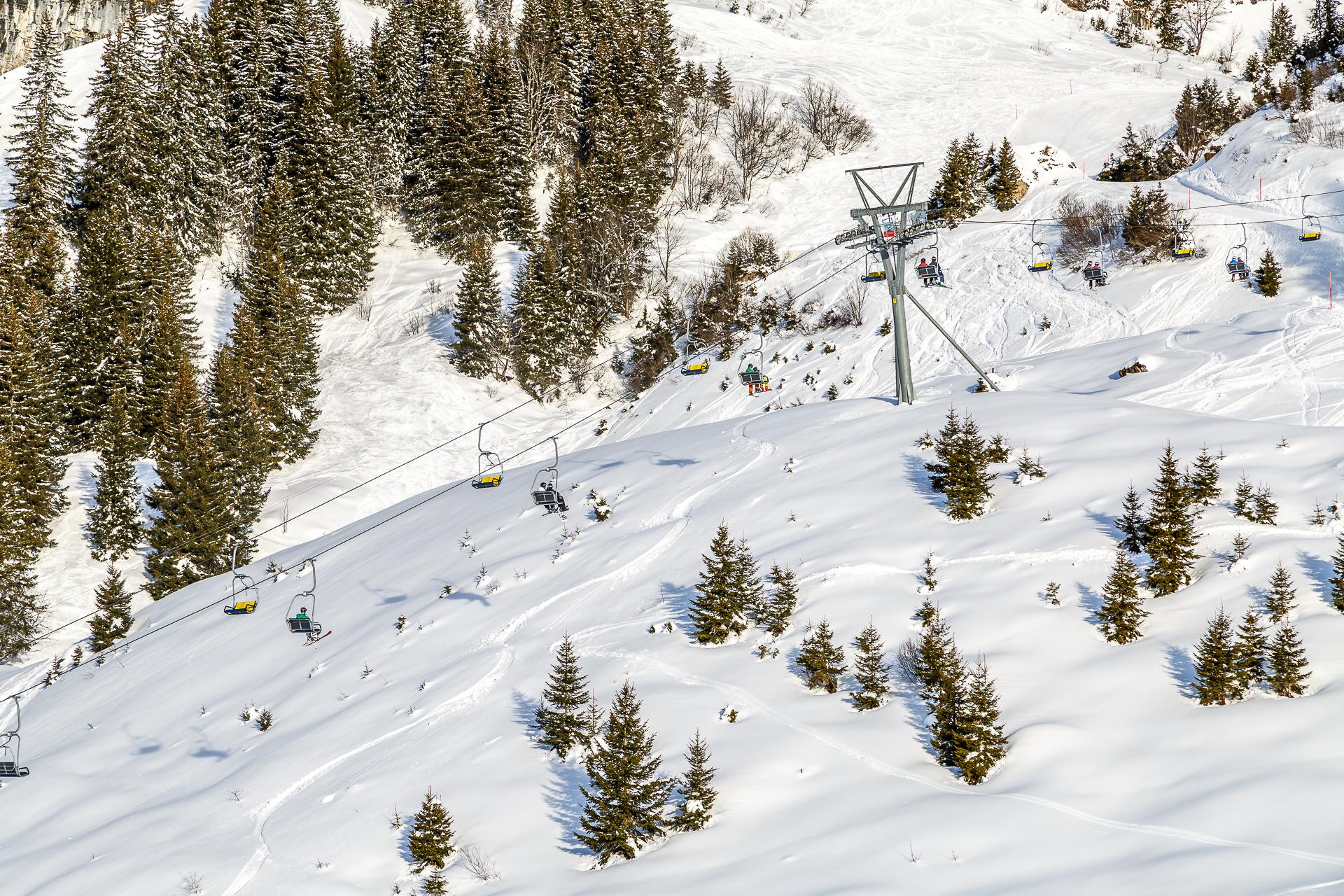 Braunwald-Skigebiet
