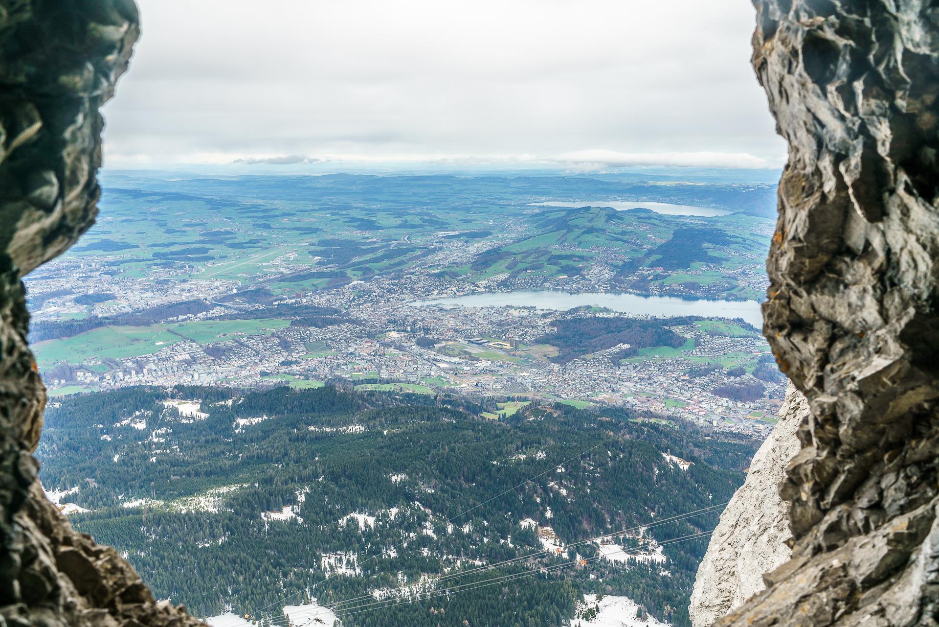 Drachenweg-Felsengalerie-Pilatus-Aussicht