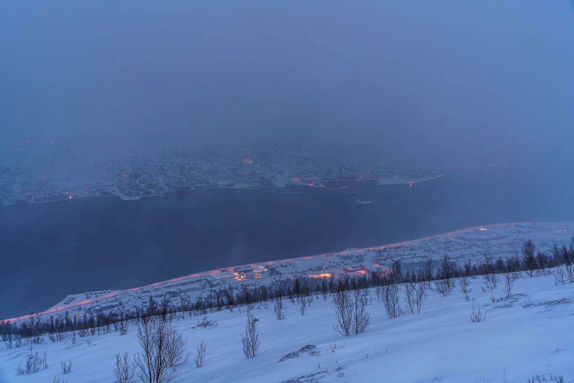 Fjellheisen-Storsteinen-Winter-Aussicht