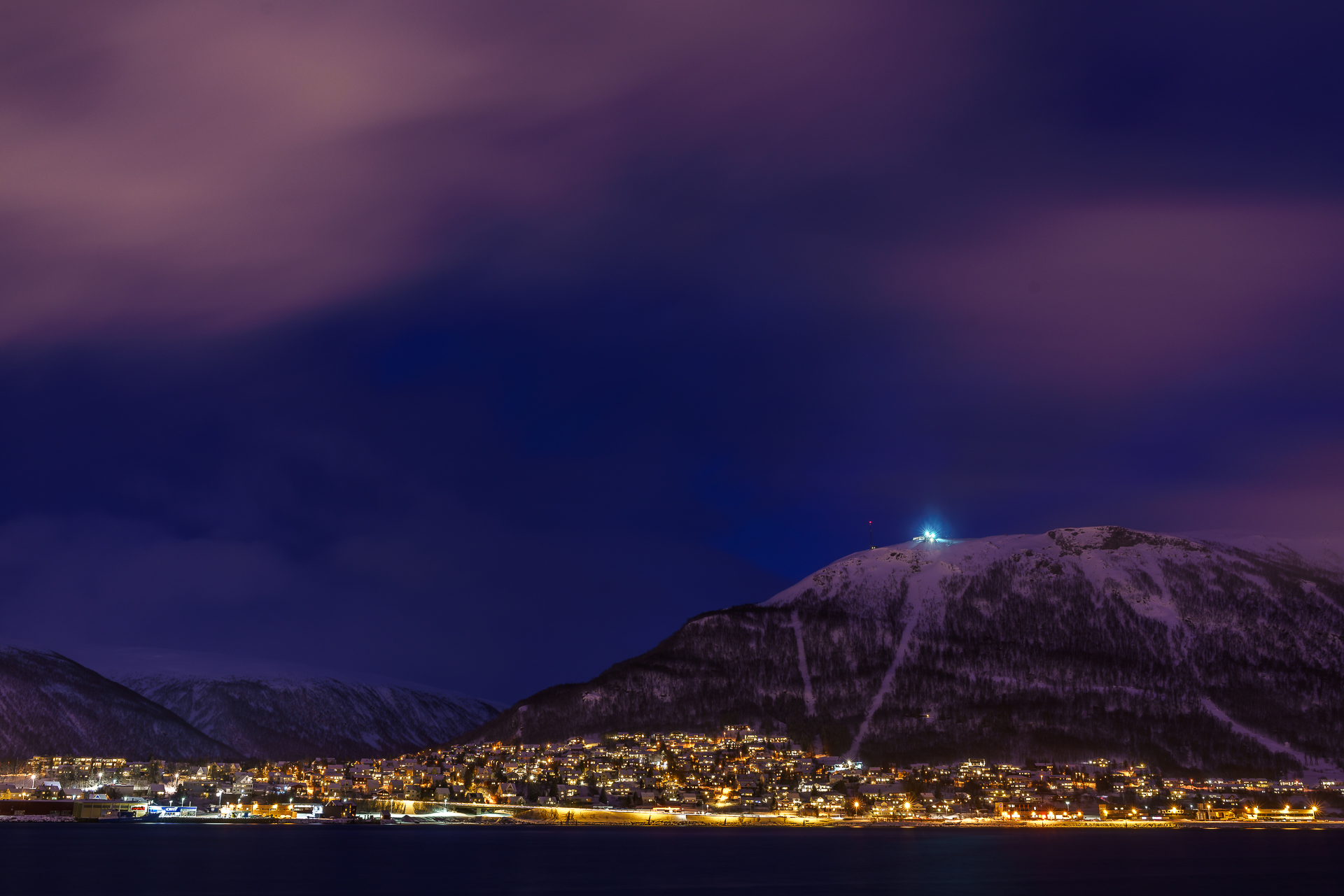 Fjellheisen-Tromso-Nacht