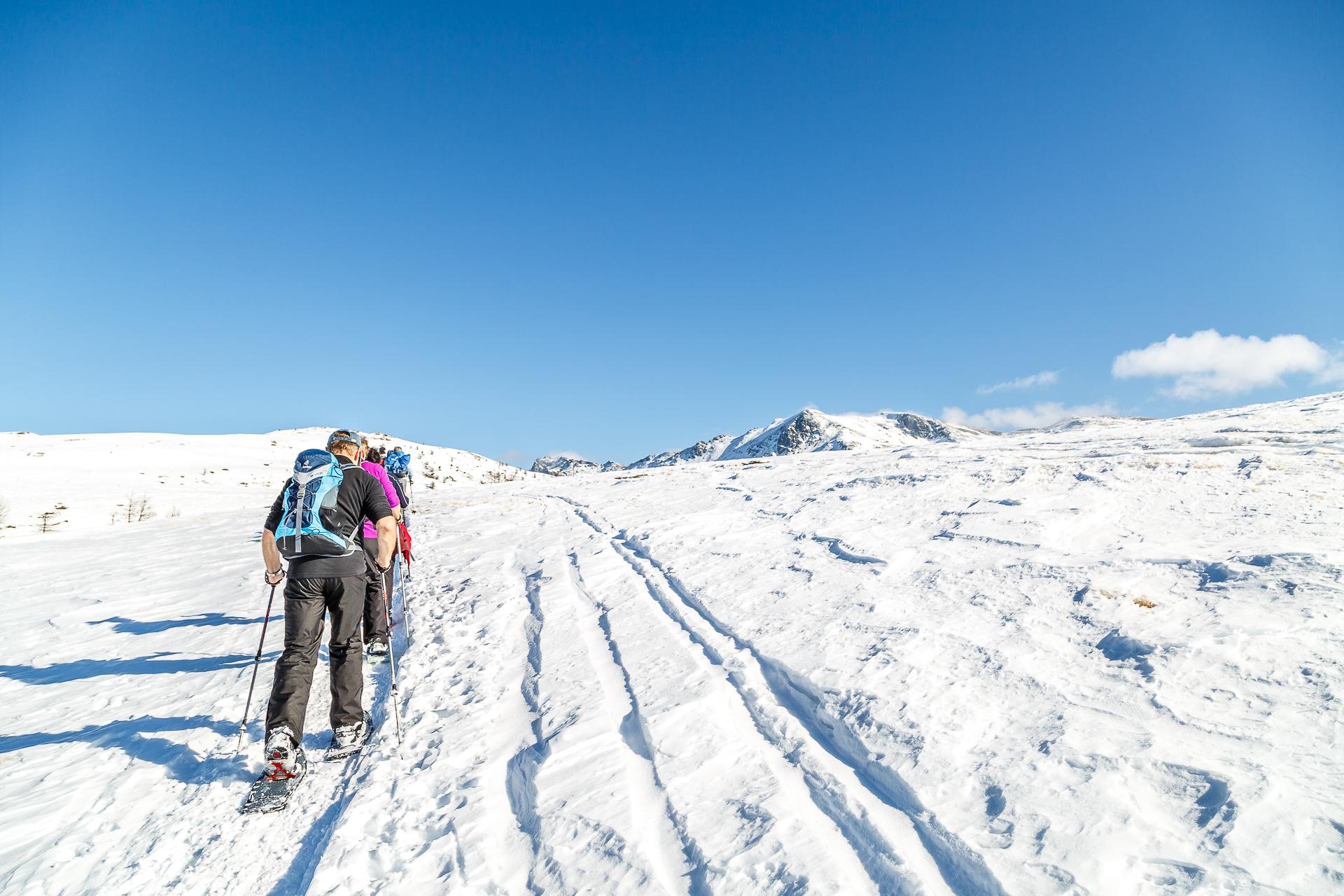 Gebidum-Visperterminen-Schneeschuhwandern