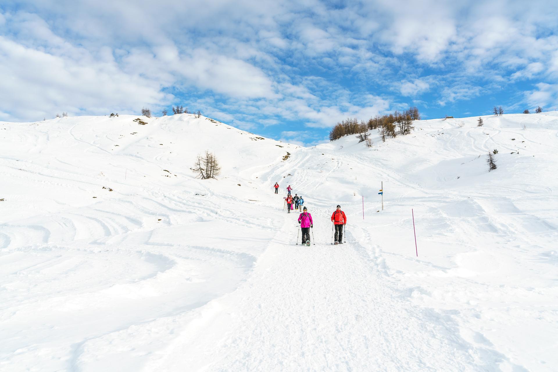 Kulinarische-Schneeschuhtour-Visperterminen