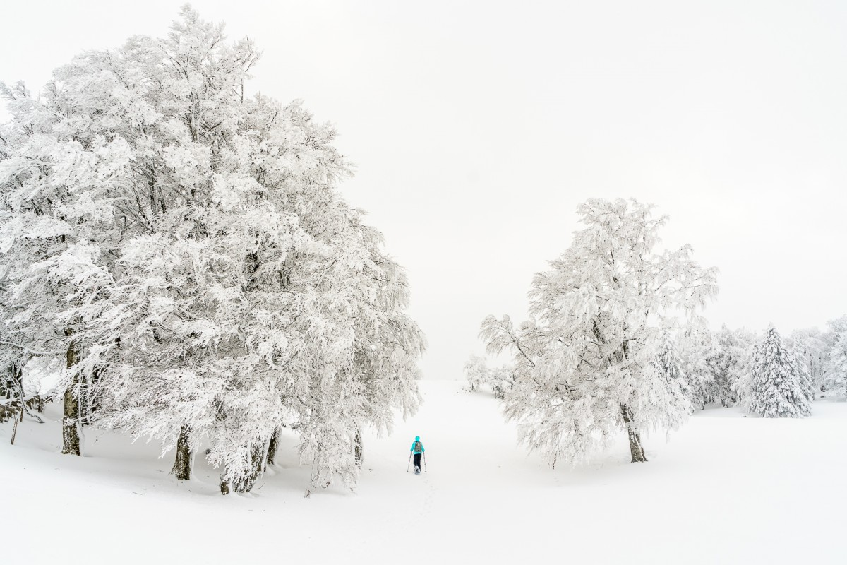 Schneeschuhwandern im Jura: Noiraigue – Creux du Van