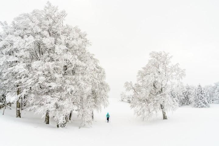 Schneeschuhtour im Jura: Noiraigue – Creux du Van