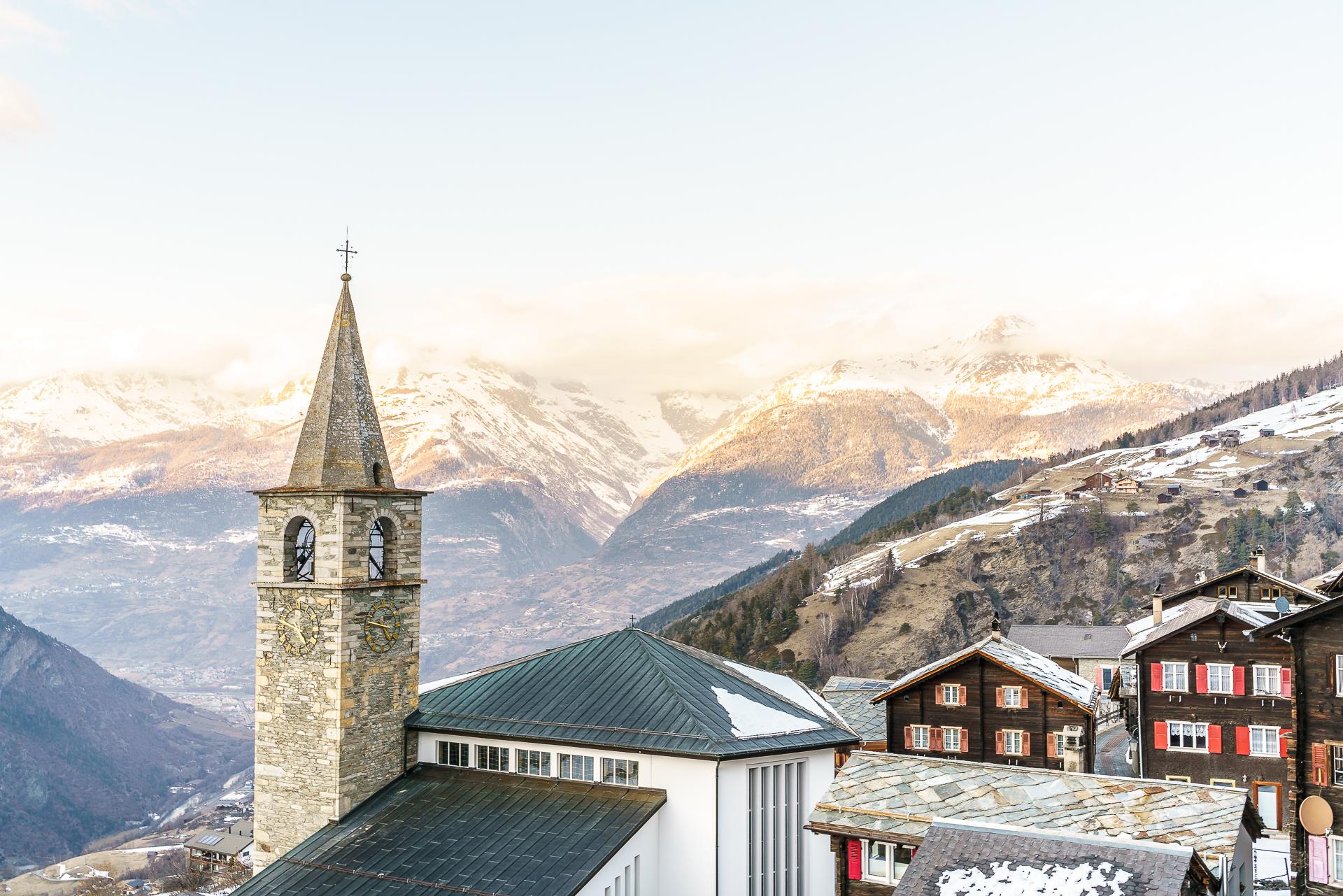 Panorama-Kirche-Visperterminen