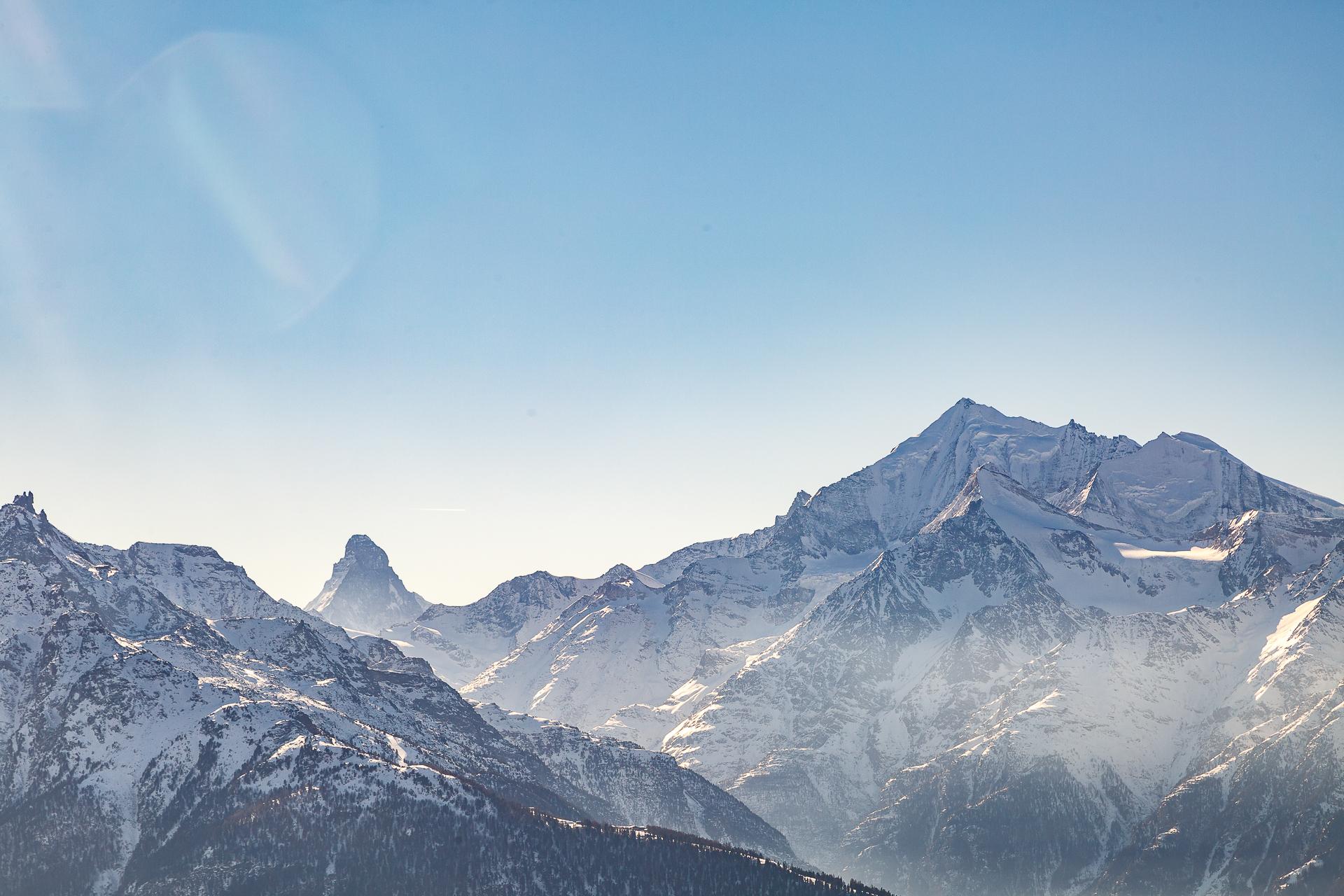 Panorama-Schneeschuhwandern-Matterhorn