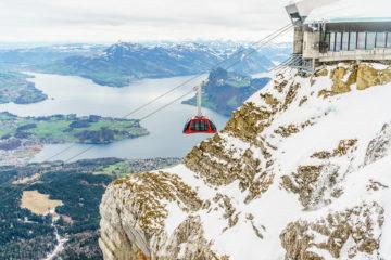 Sonntagsausflug mit Aussicht für Faule: Drachenweg am Pilatus