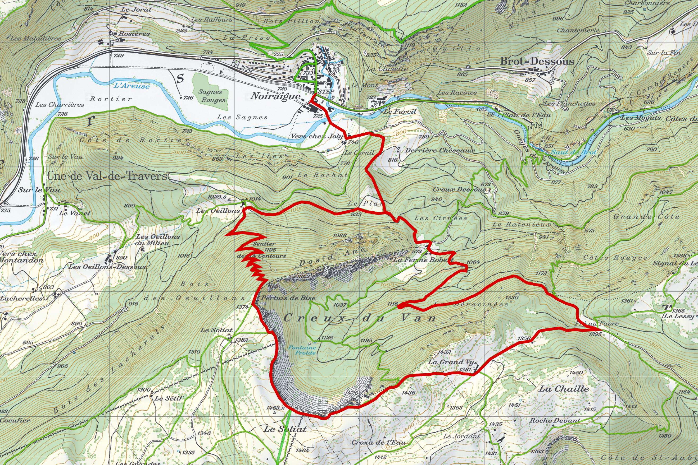 Schneeschuhtour-Jura-Creux-du-Van