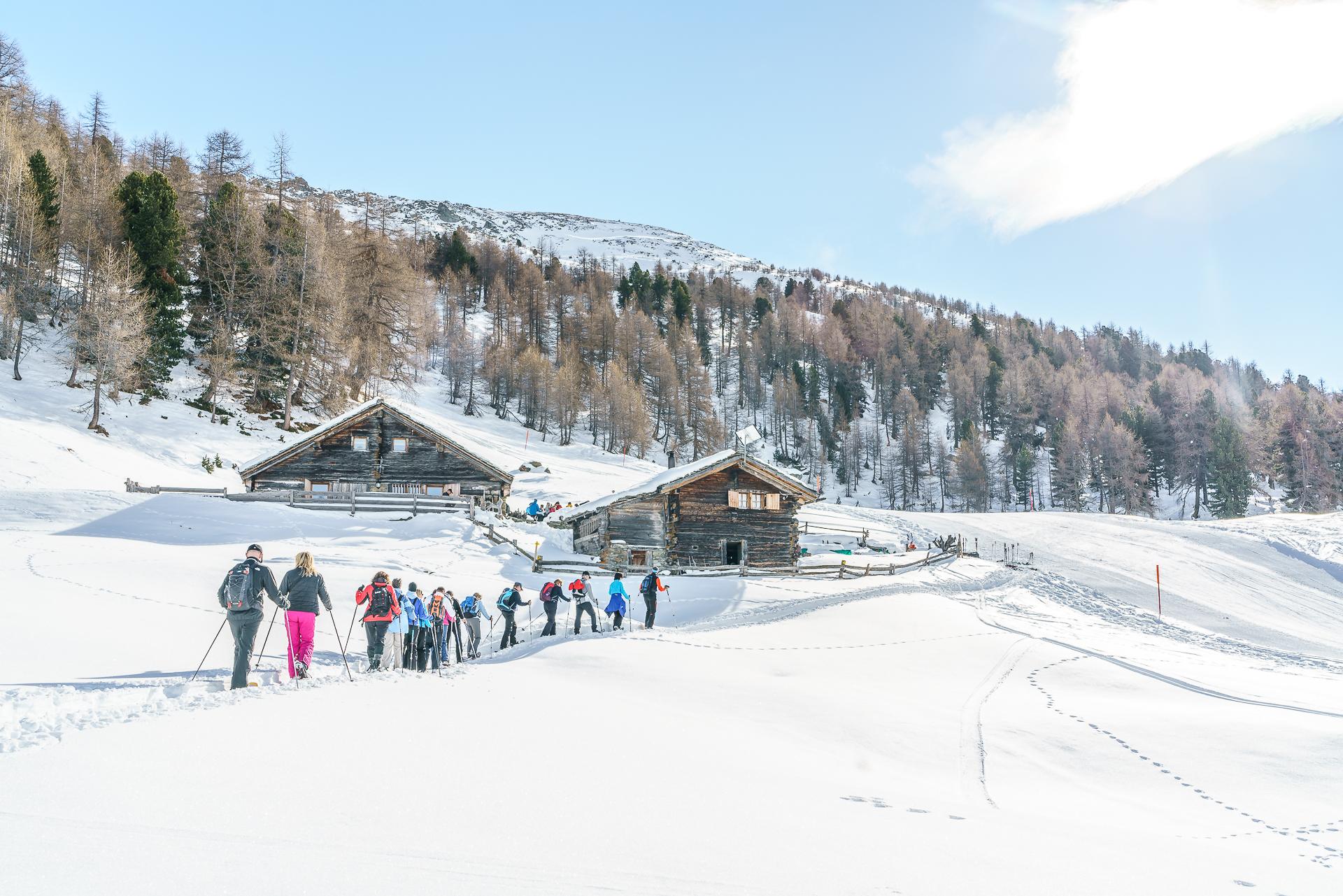 Senntum-Kulinarisches-schneeschuhlaufen-Visperterminen