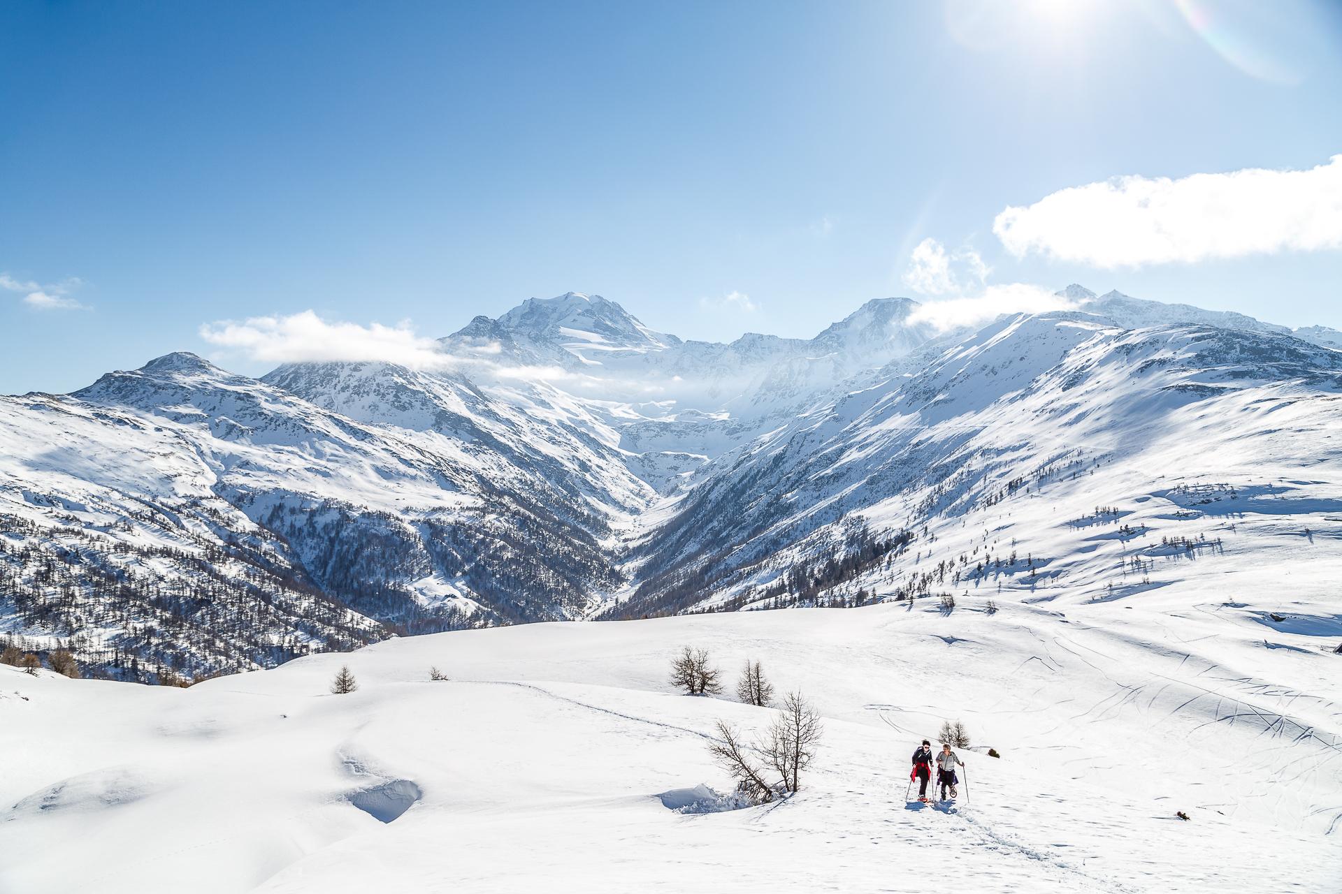 Winterpanorama-Visperterminen