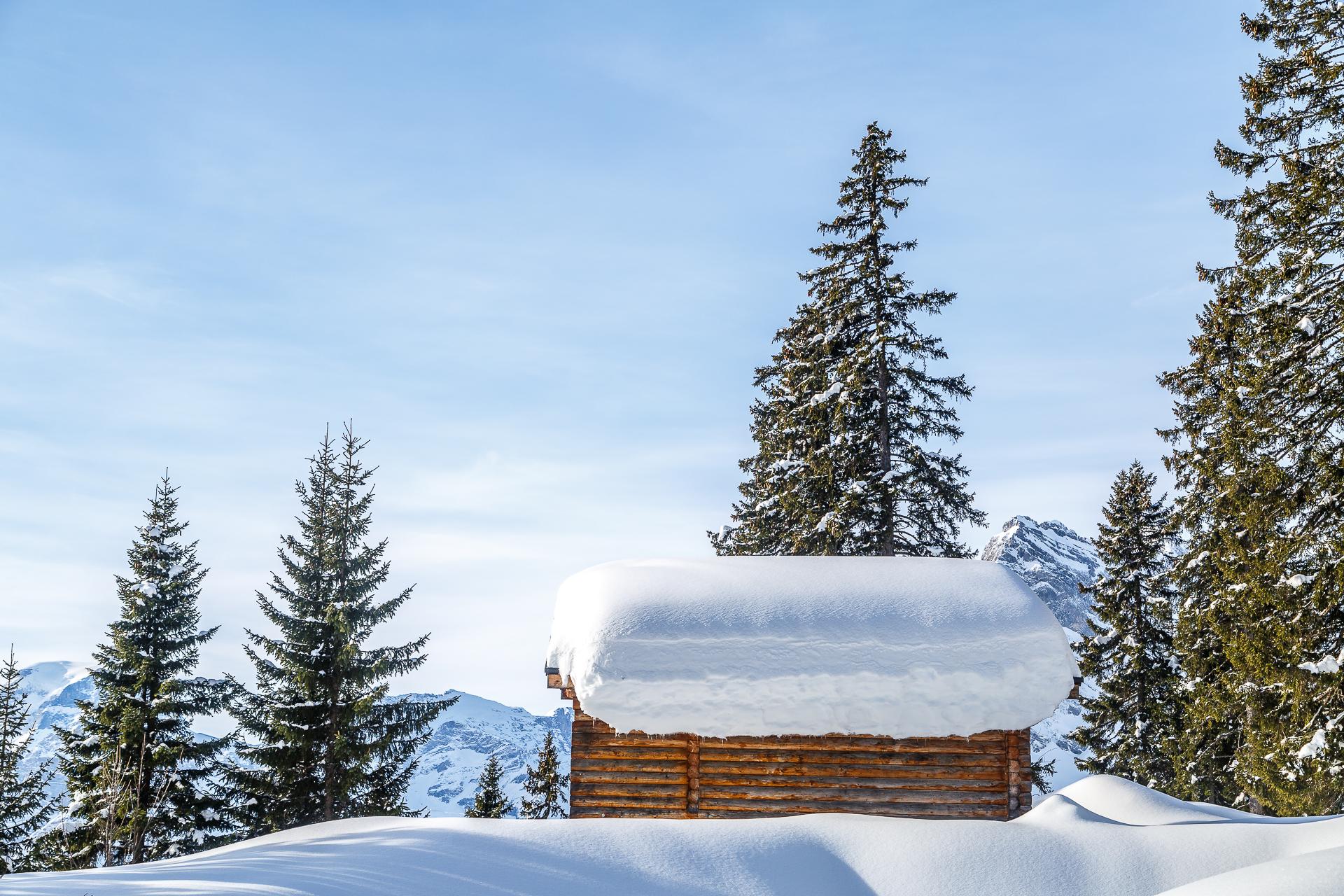 Winterwanderung-Braunwald-Huette