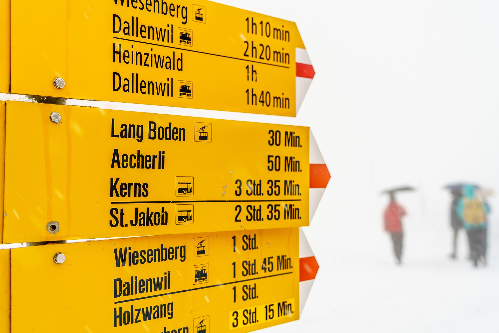 Wirzweli-Dallenwil-Wanderungen