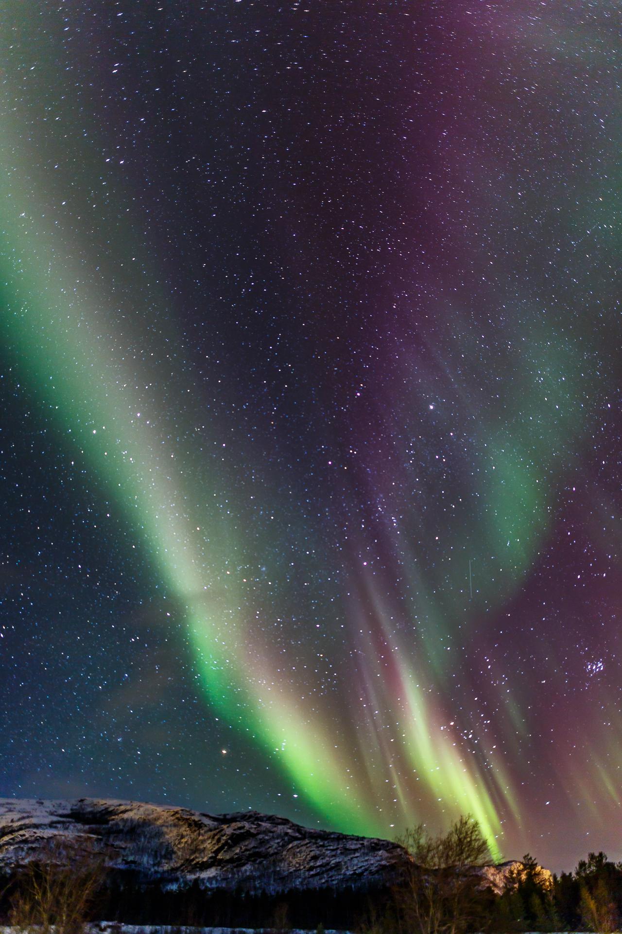 Alta-Norwegen-Nordlicht