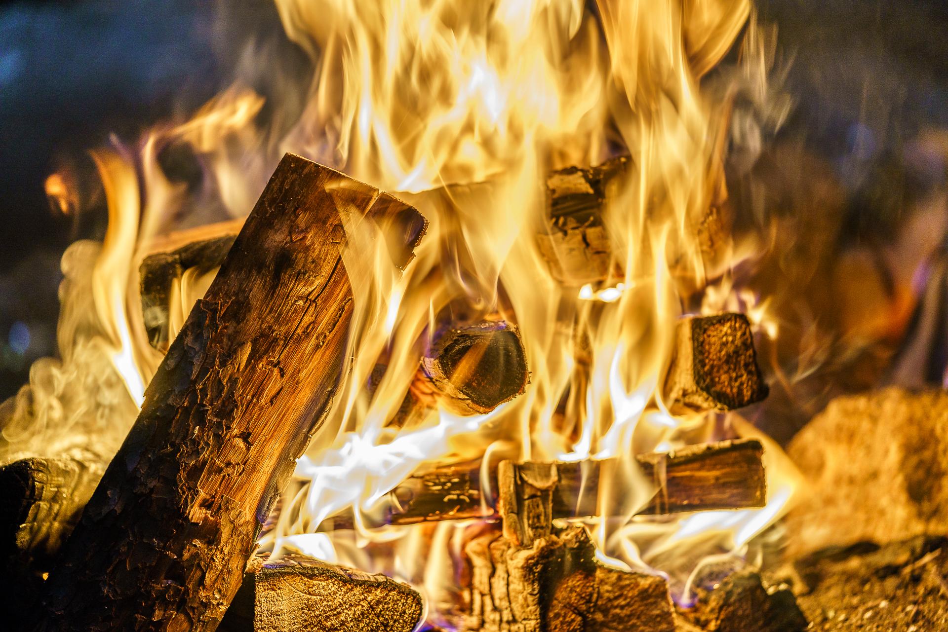 Feuer-Lappland