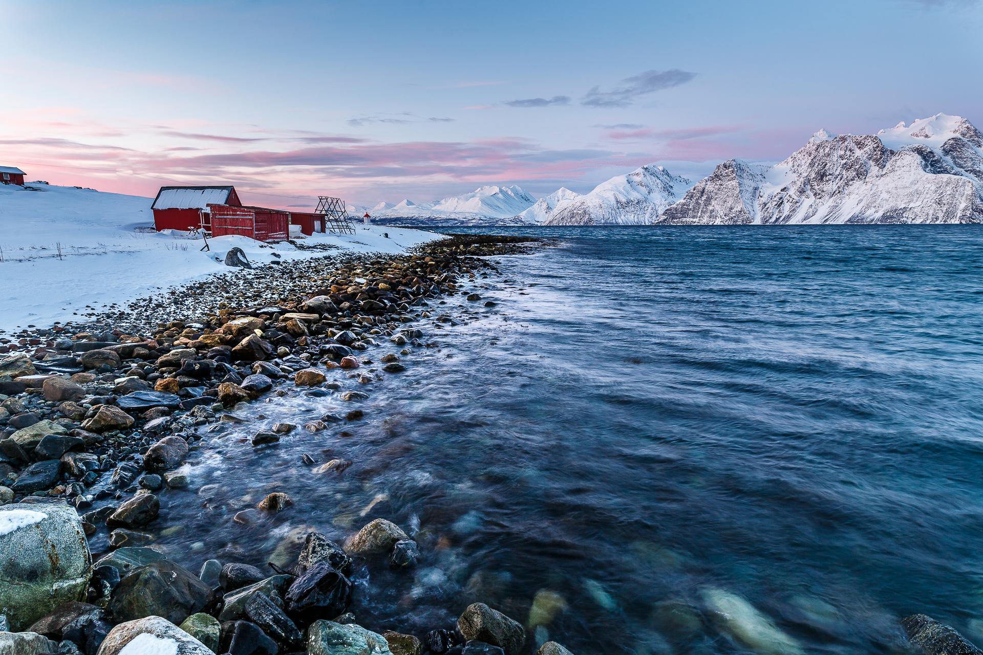 Lyngenfjord-Norwegen