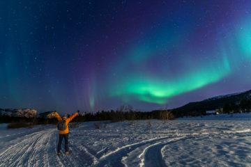 Lappland Roadtrip - auf der Suche nach dem Nordlicht