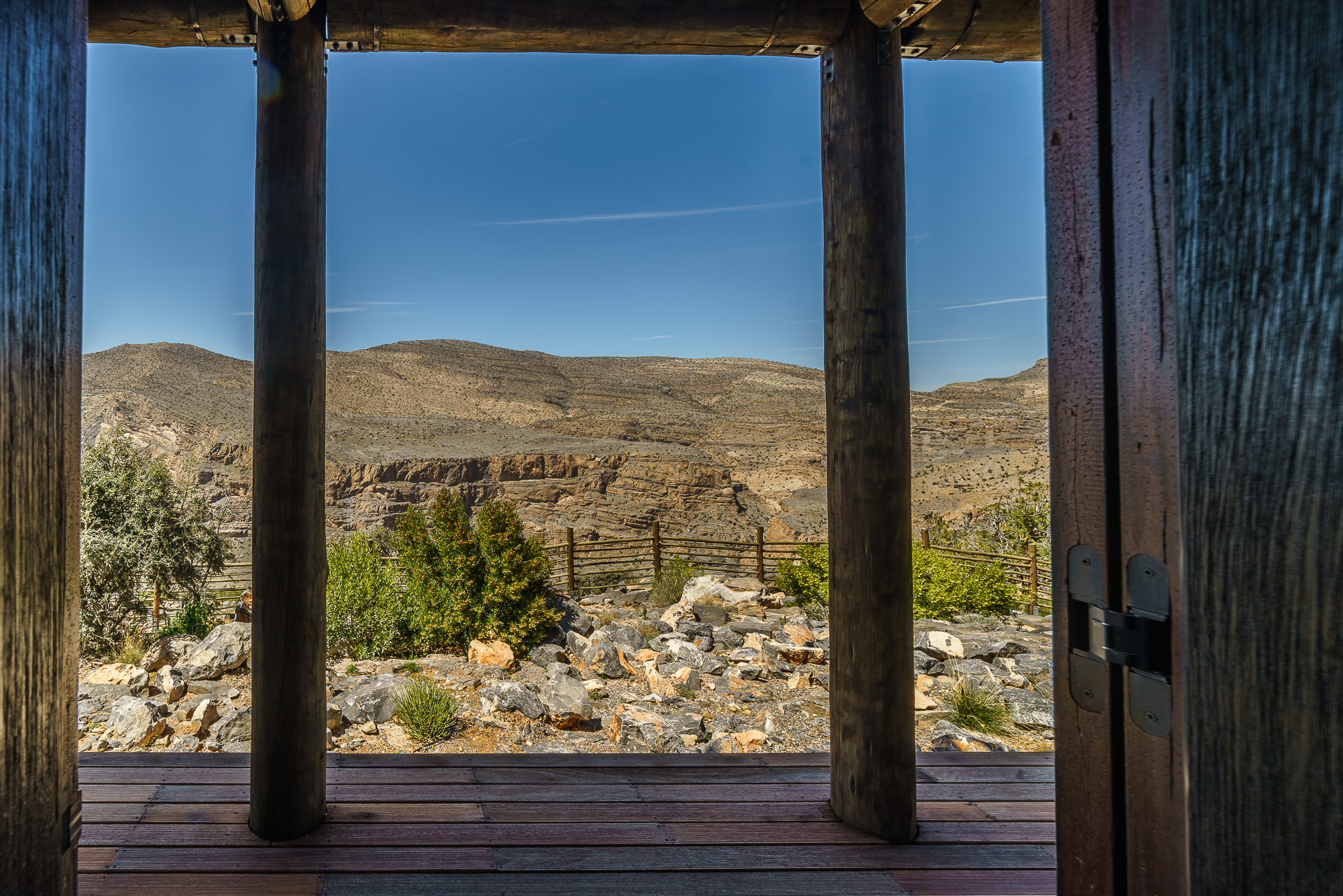 Alila-Jabal-Akhdar-Horizon-View-Suites-Aussicht