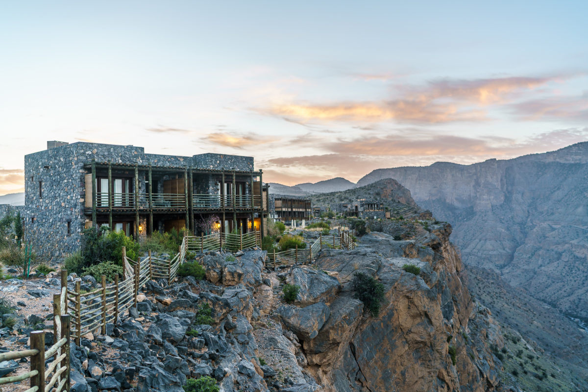 Alila jabal akhdar traumhaftes design hotel im oman for Kroatien designhotel