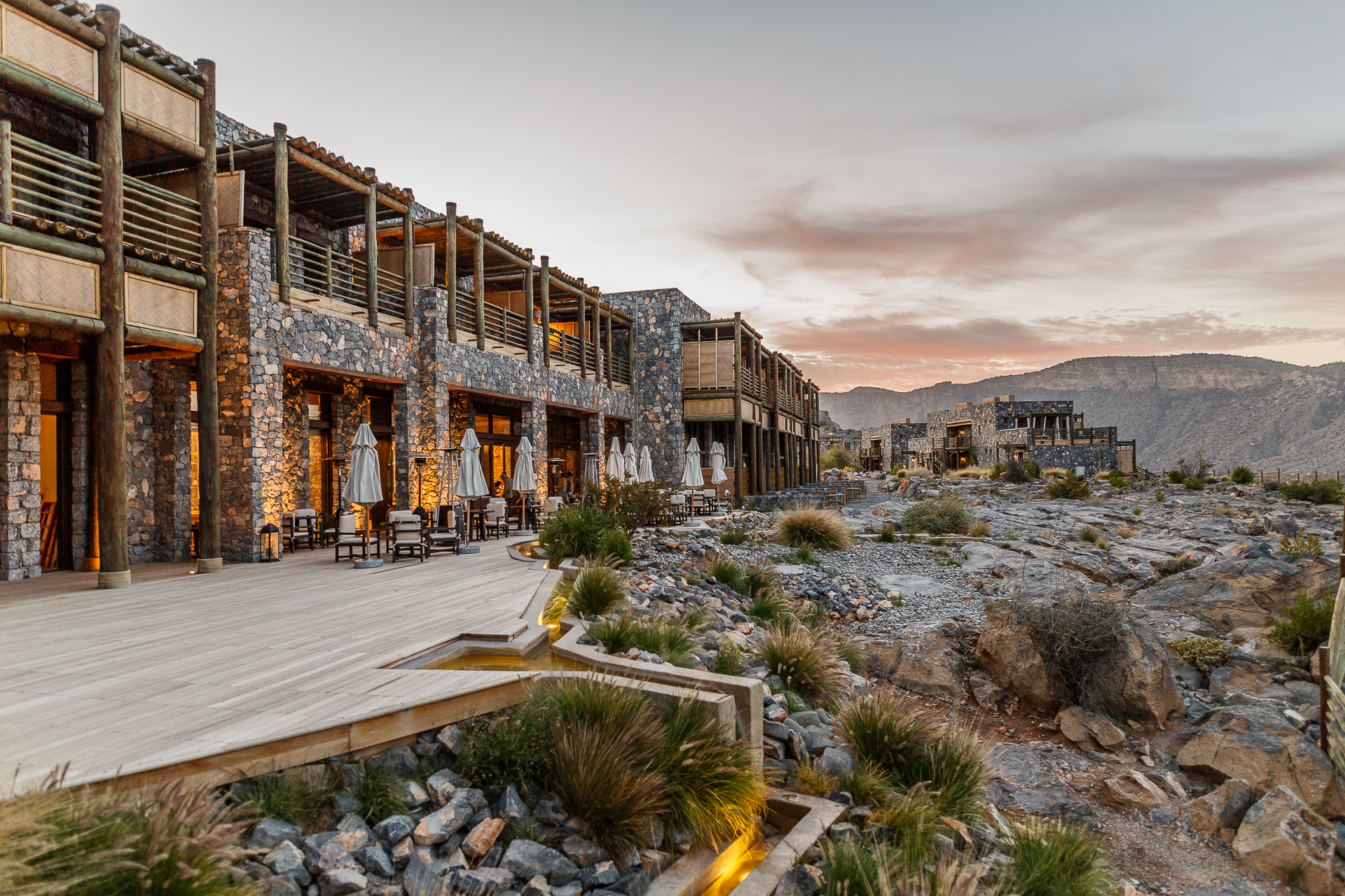 Alila jabal akhdar traumhaftes design hotel im oman for Design hotels 2016