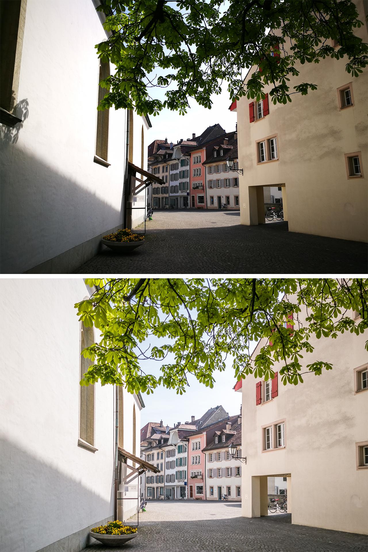 Huawei-p9-Testbild-Aarau-Altstadt-Vergleich