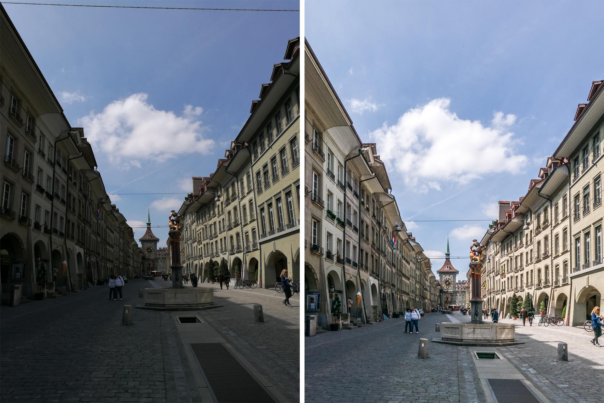 Huawei-p9-Testbild-Bern-Altstadt-vergleich