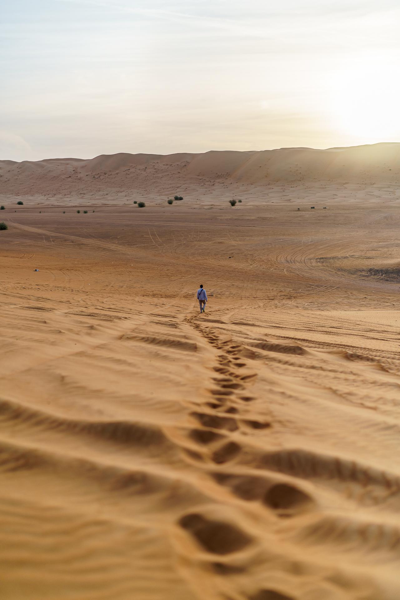 Oman-Wuste-Duene