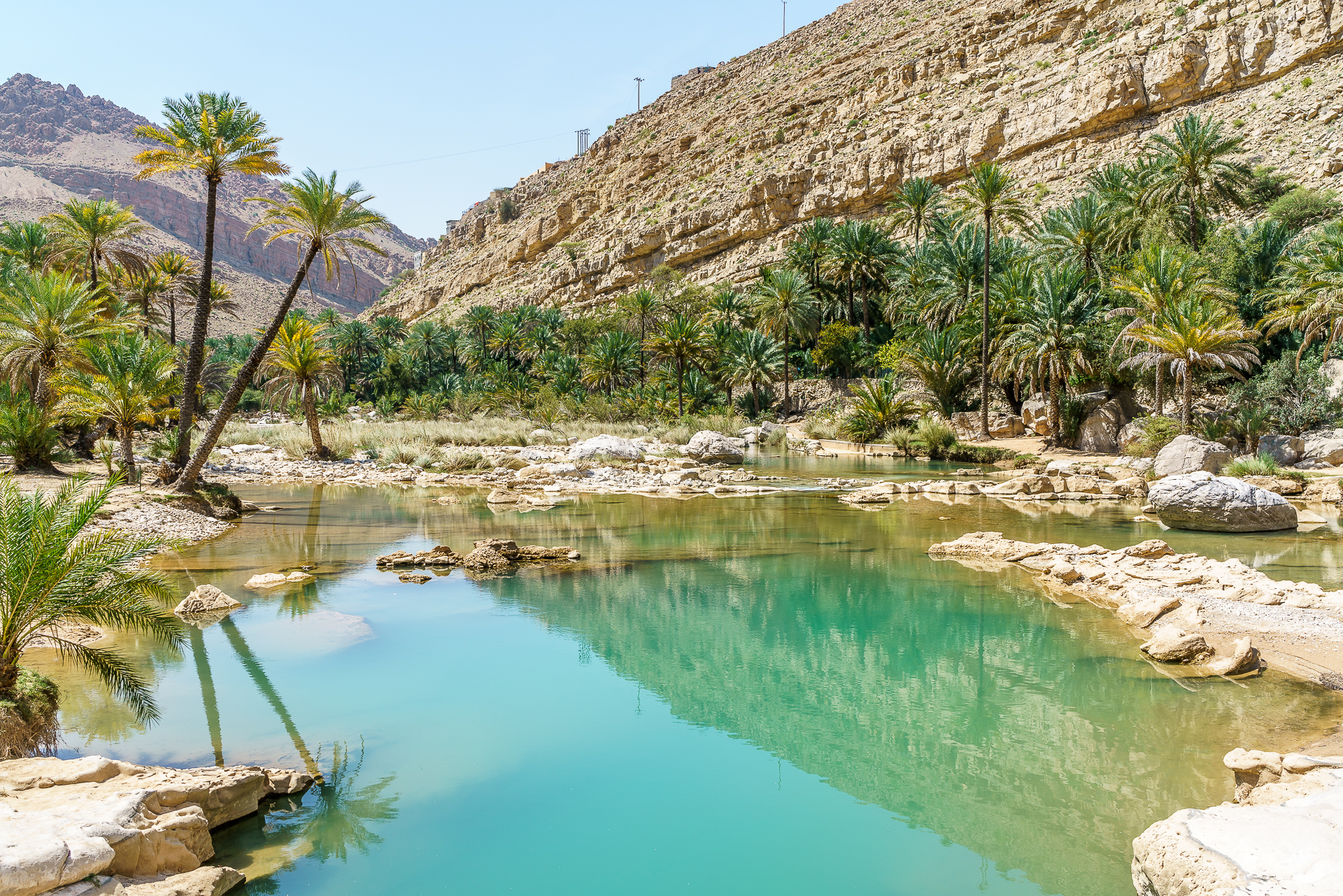 Wadi-Ben-Khalid-pools