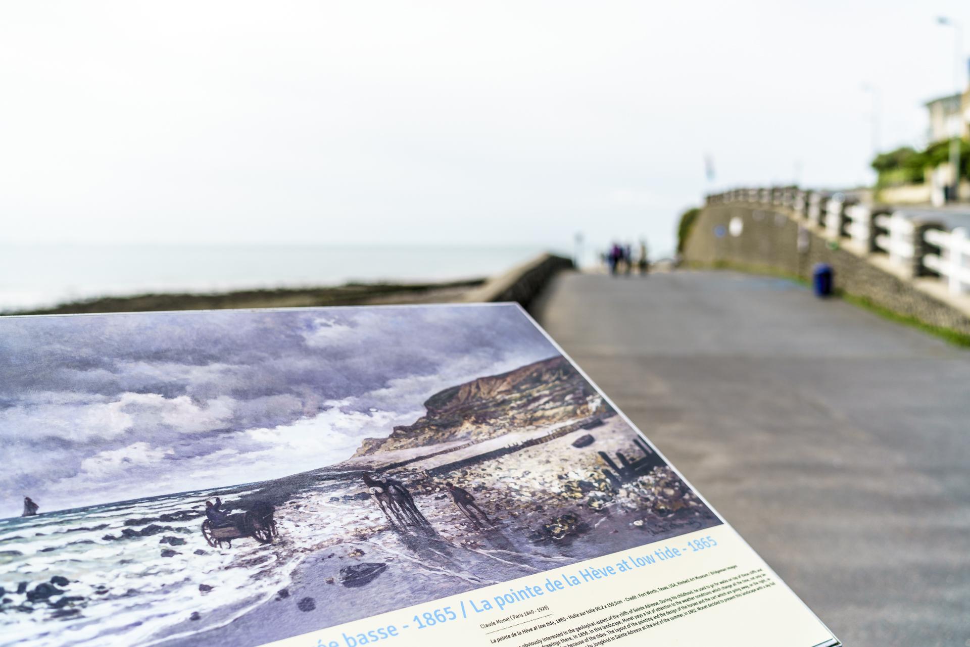 Saint-Adresse nach Le-Havre impressionisten Spaziergang