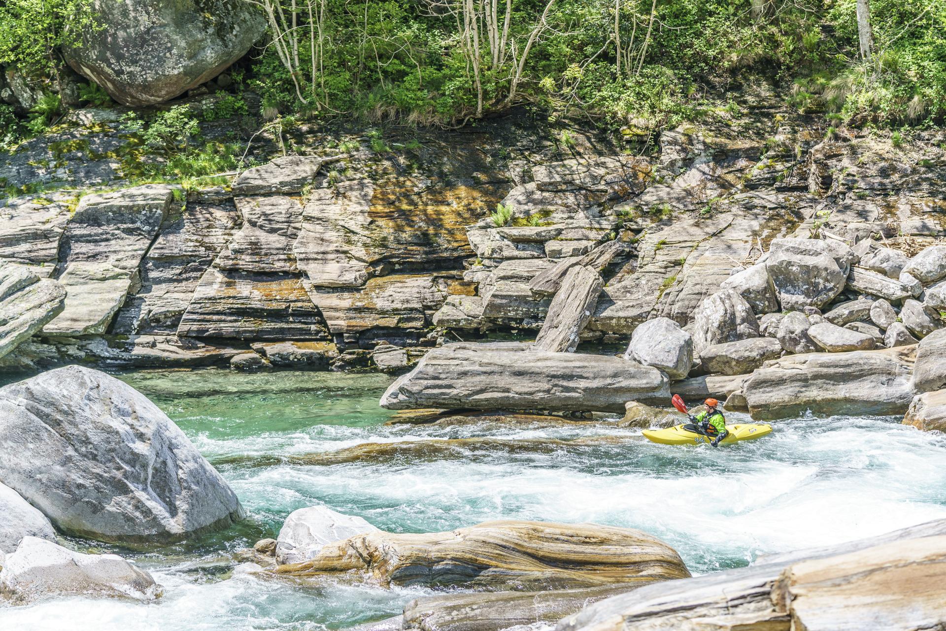 Kayak-Val-Verzsaca