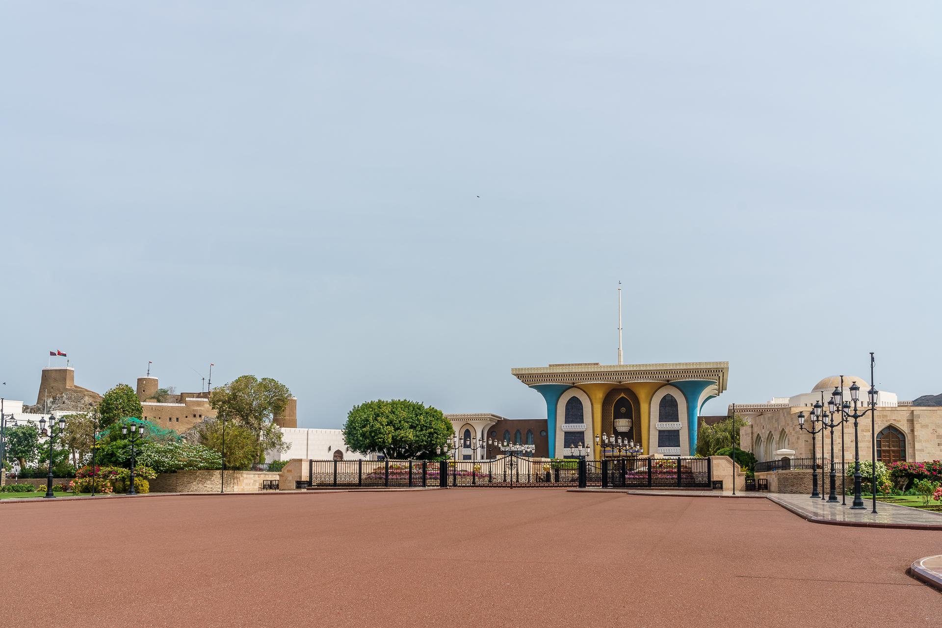 Sultanspalast-Qasr-al-Alam-Muscat