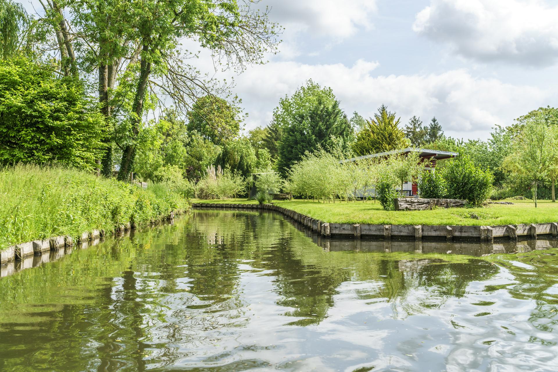 Hortillonnages-Amiens-Frankreich