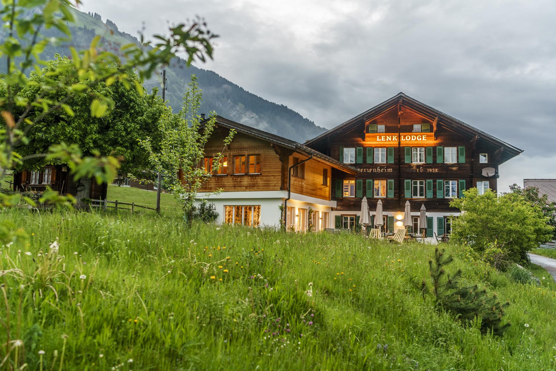 Lenk-Lodge-Chalet