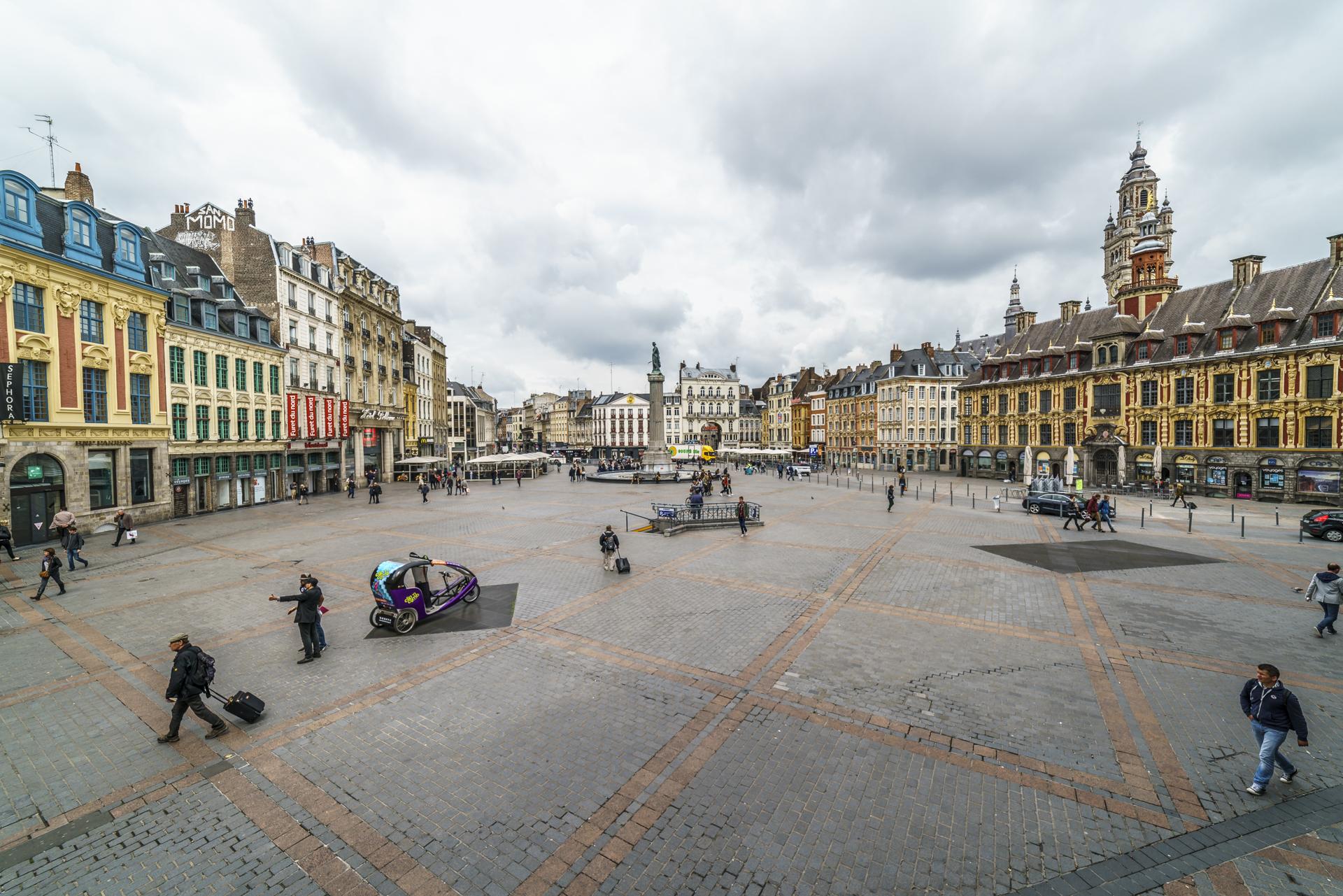 Lille-Place-de-General-de-Gaulle