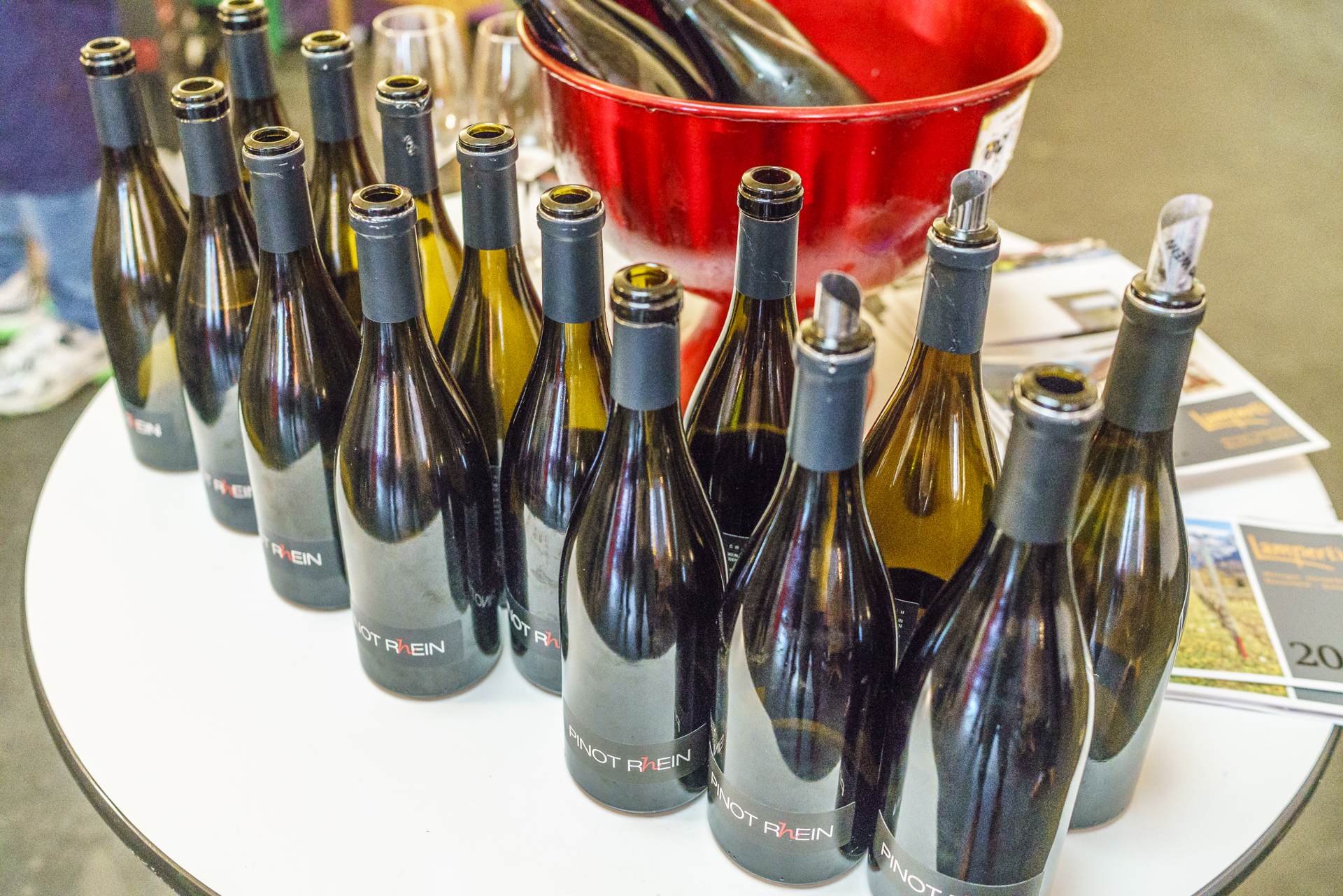 Pinot Rhein Vertikaldegustation