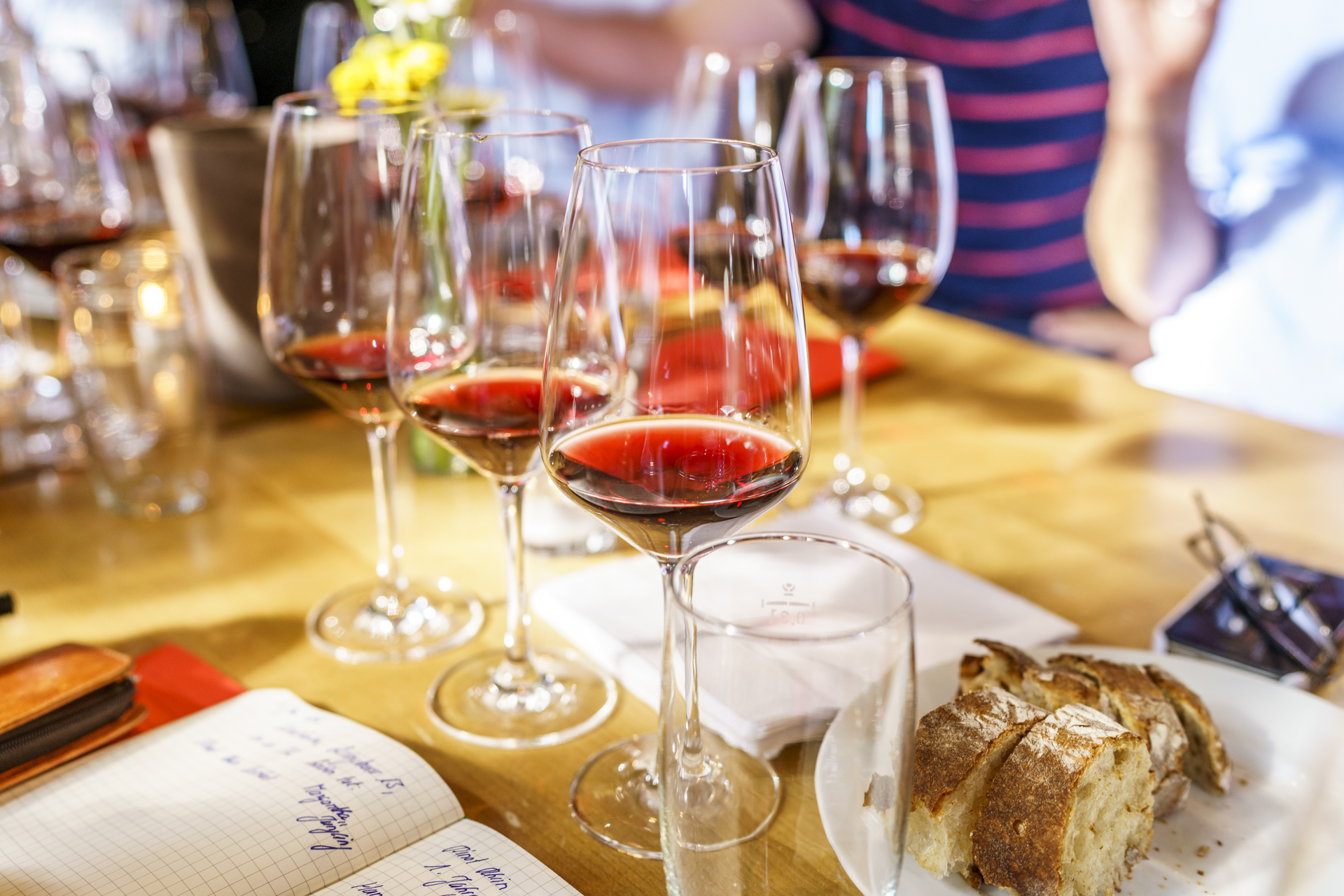 Pinot-Rhein-Tasting