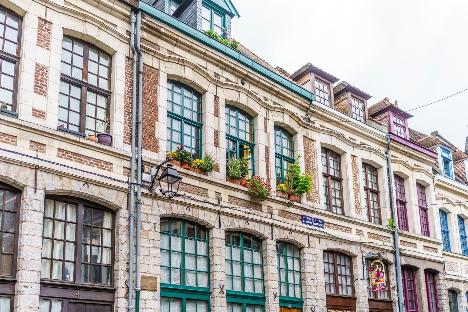 Vieux-Lille-Fassaden