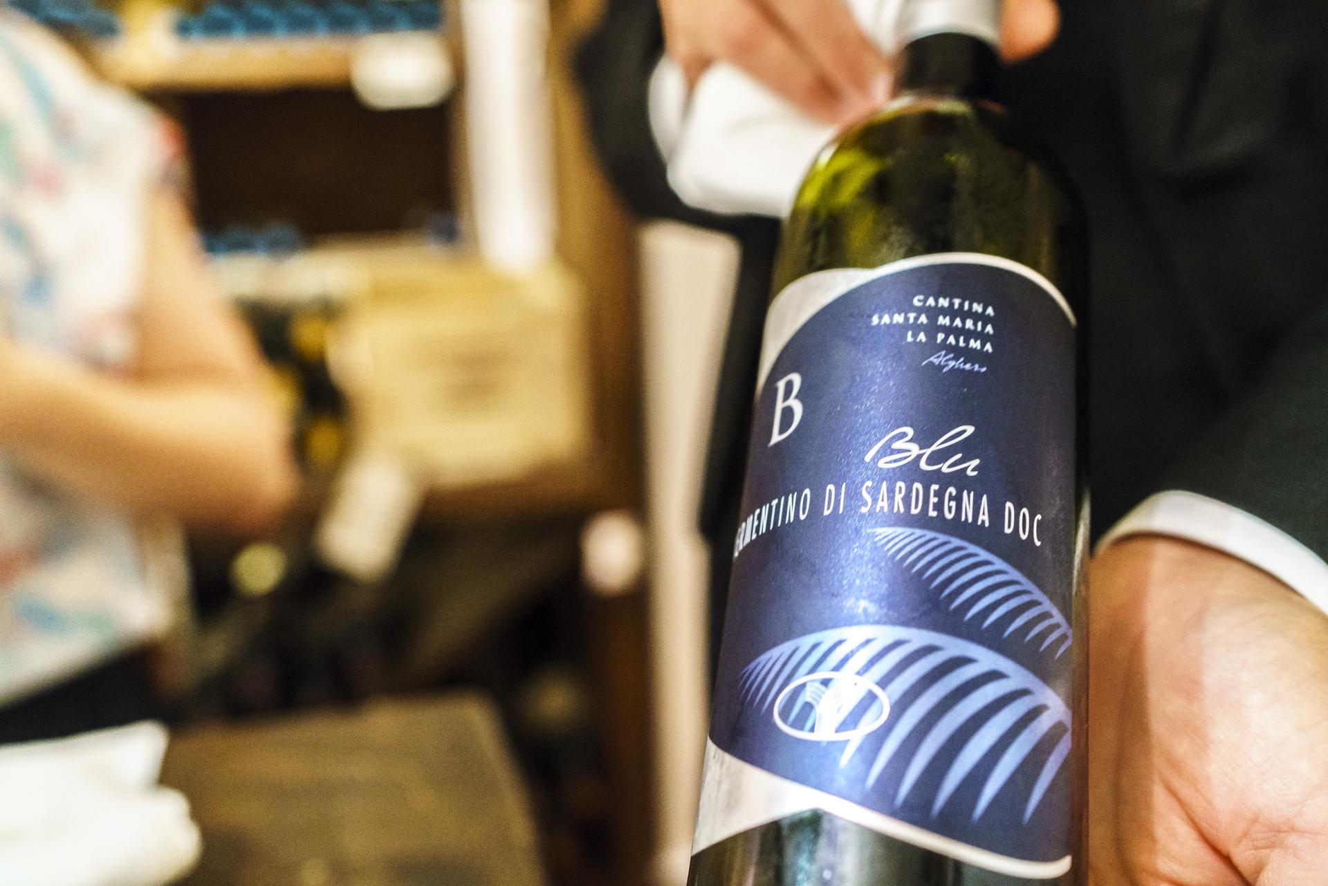 Wein-Sardinien