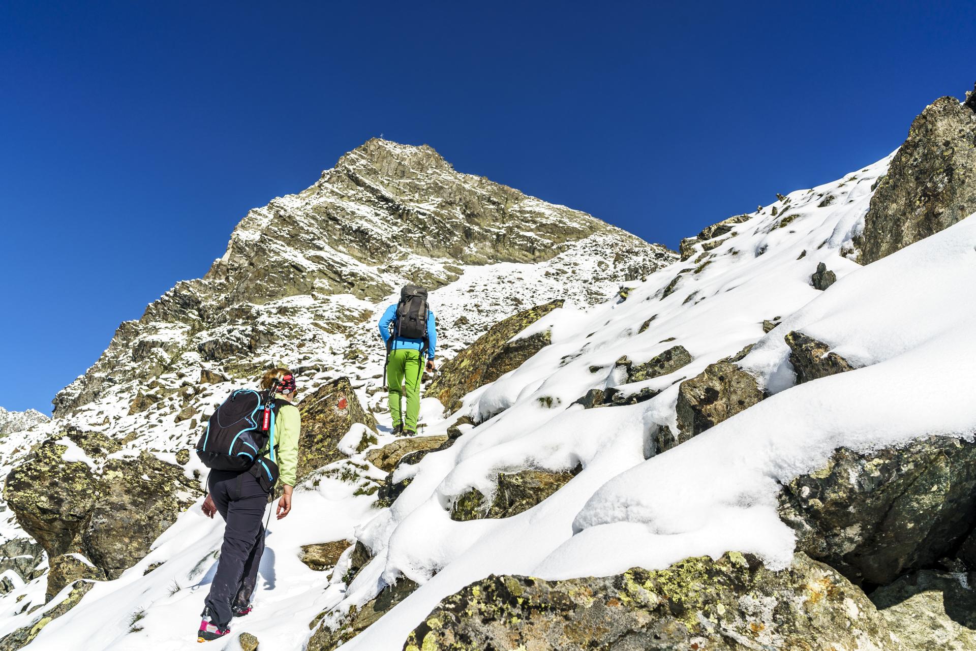 Aufstieg-Rinnenspitze