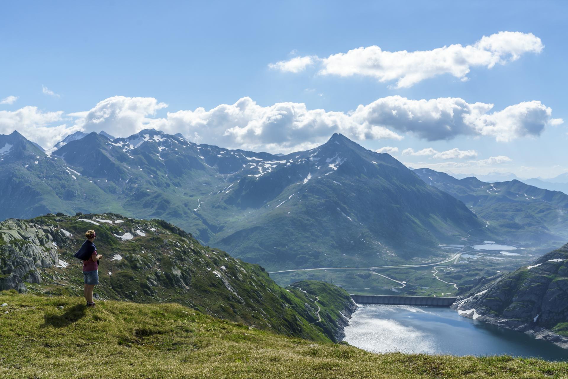 Aussicht-Gotthard