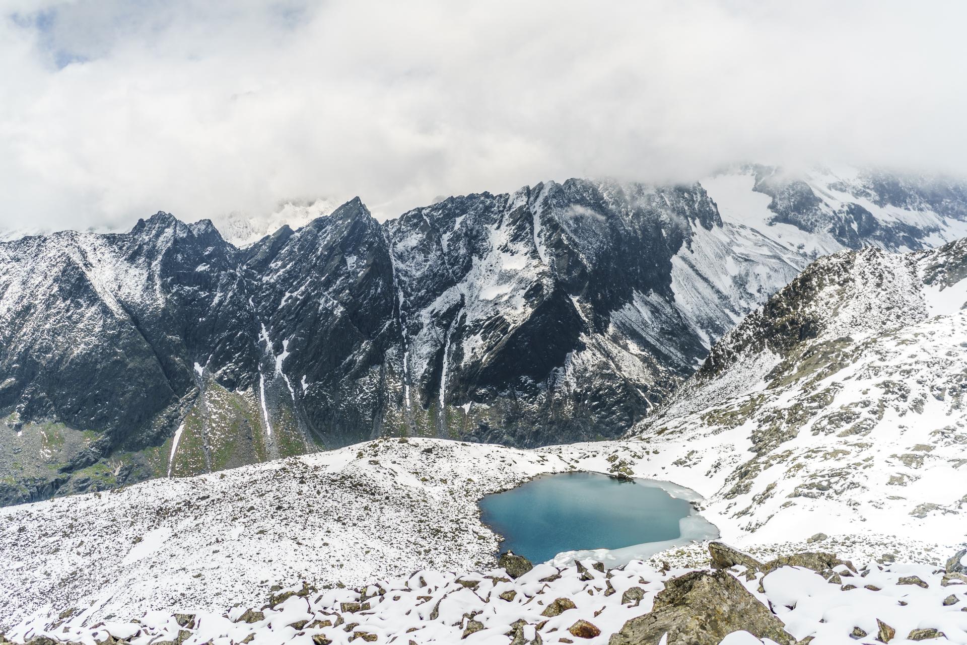 Aussicht-Rinnenspitze-Stubai
