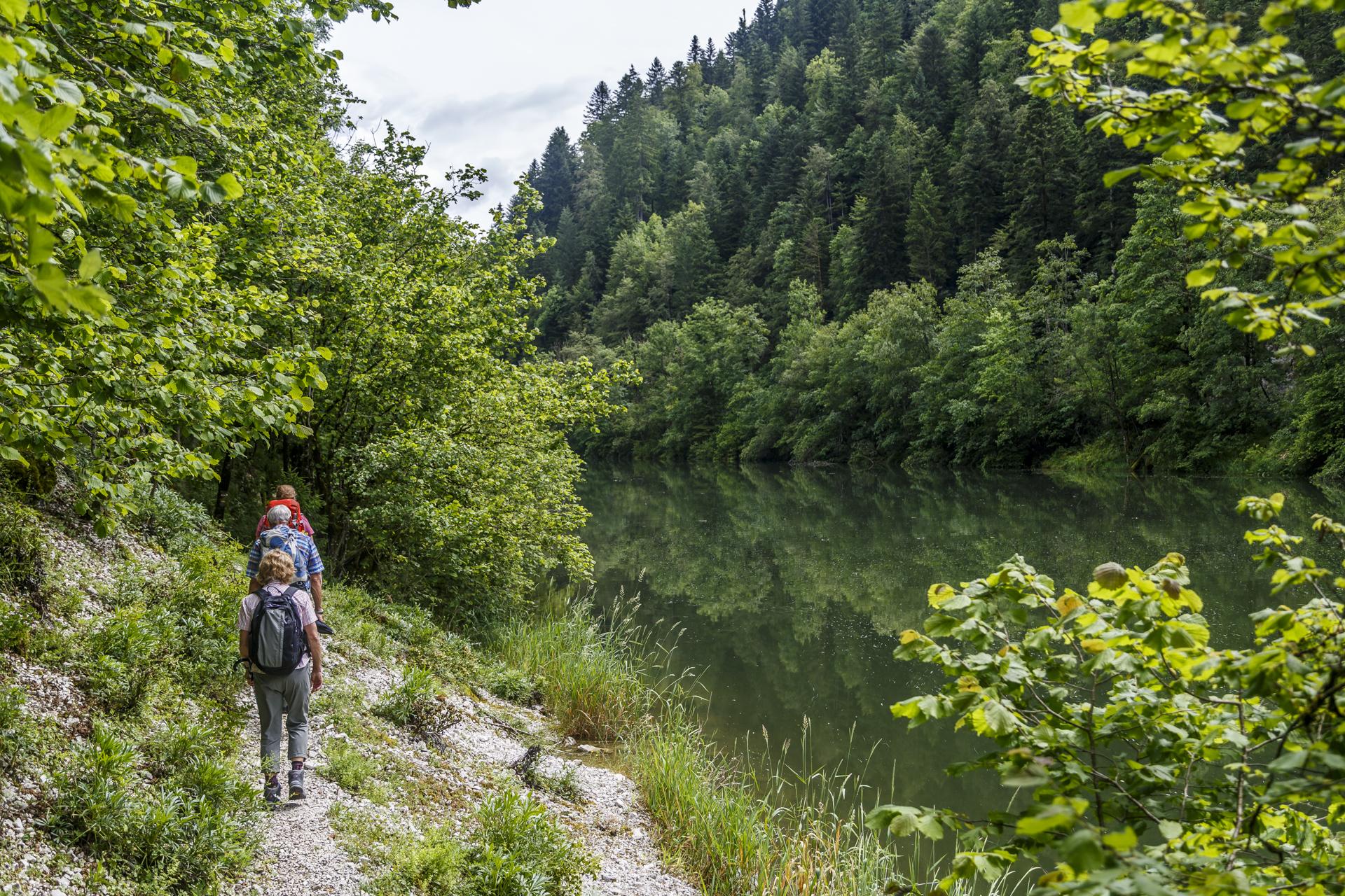 Fil-de-Doubs-Wandern