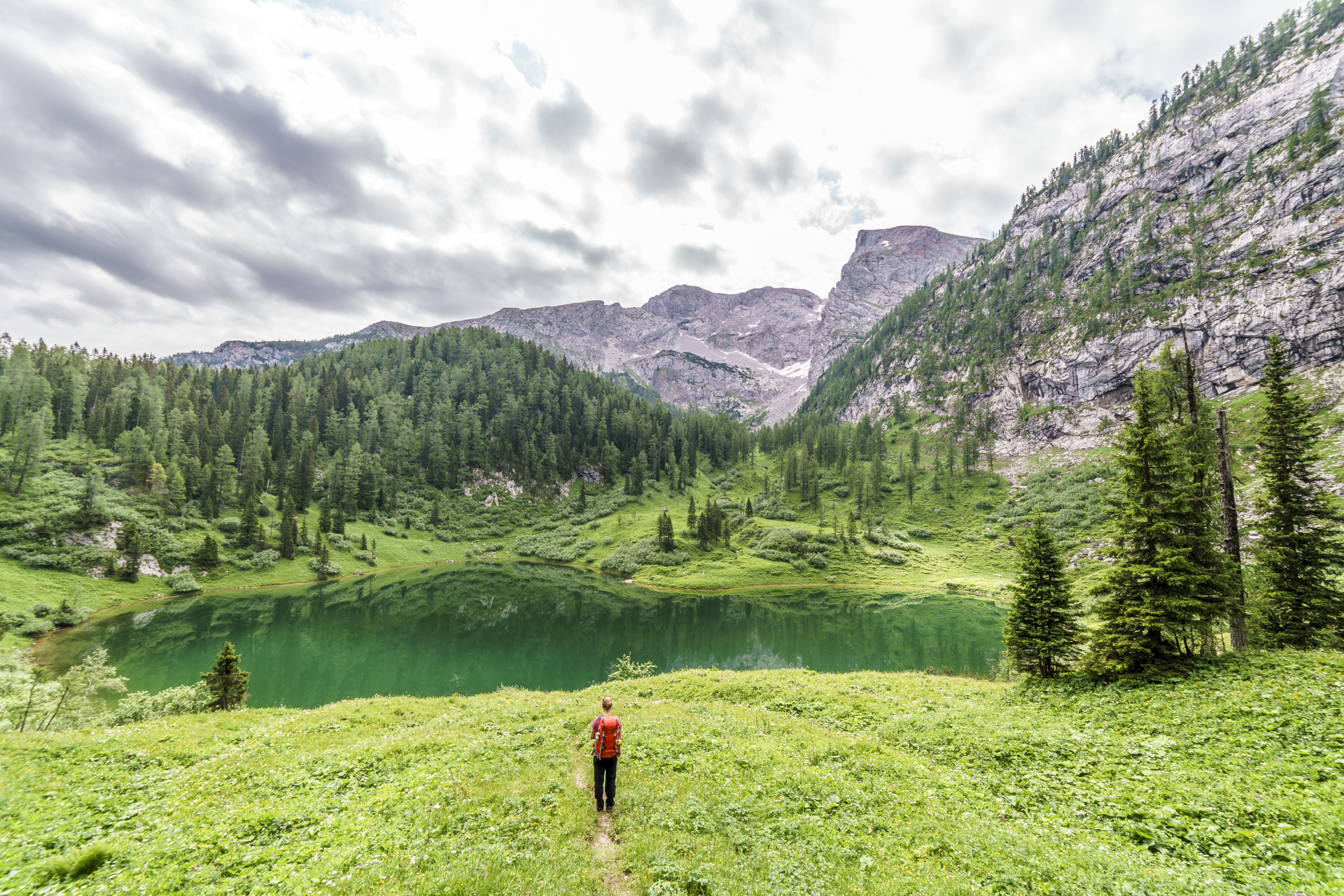 Gruensee-Berchtesgaden-Bayern