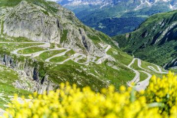 Spontan weg - Wandern und Übernachten auf den Gotthardpass