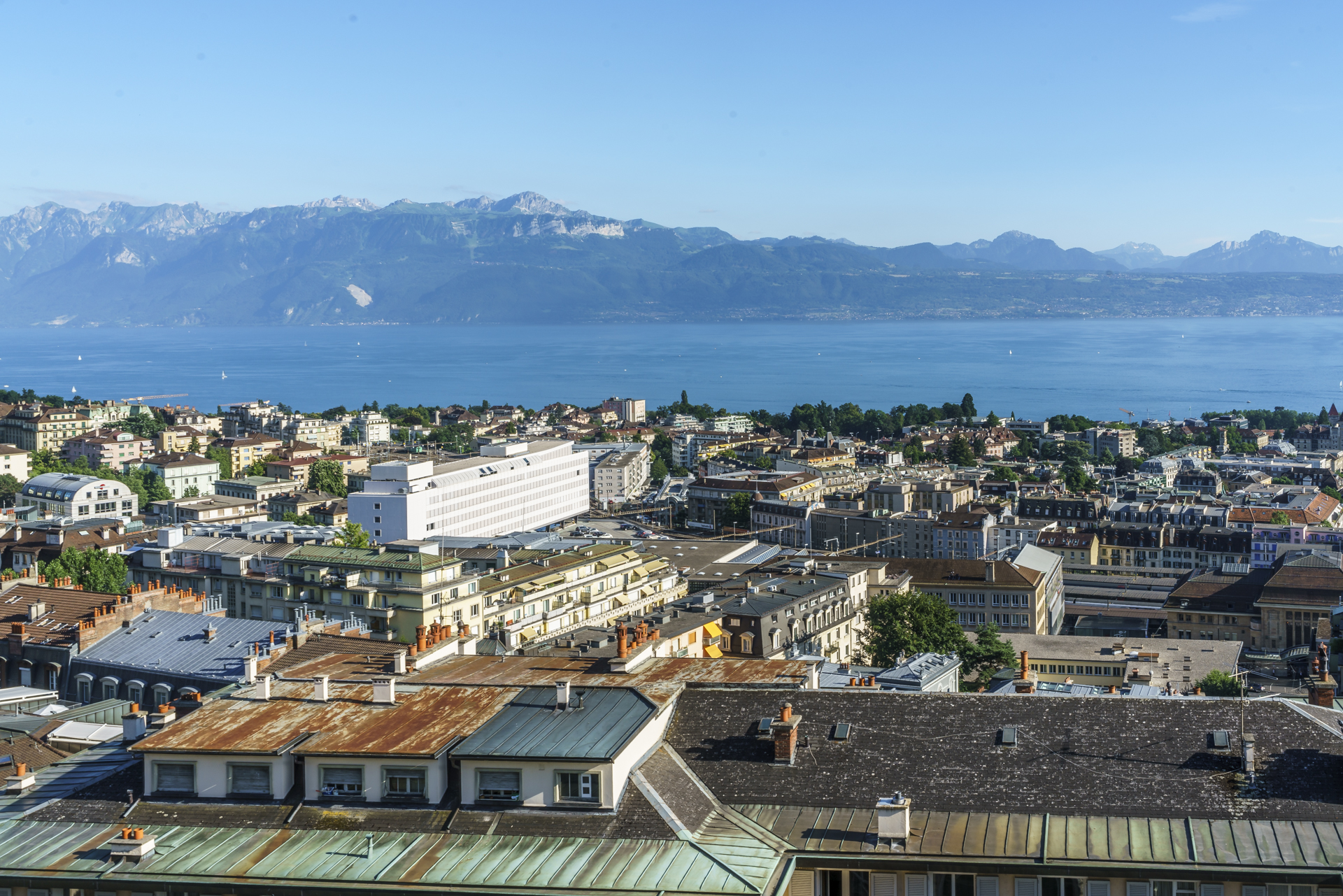 Lausanne-Genfersee