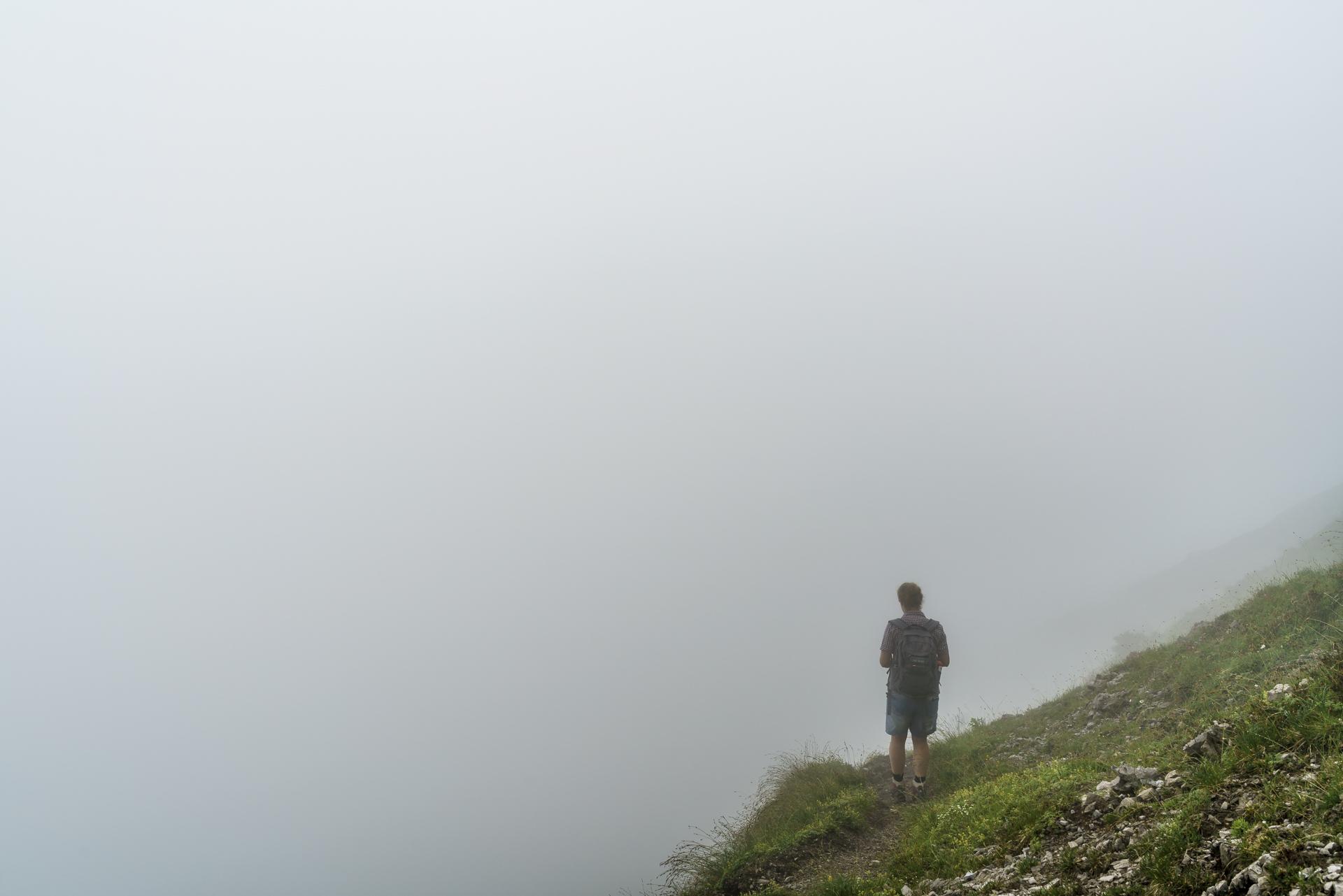 Nebel-Wandern